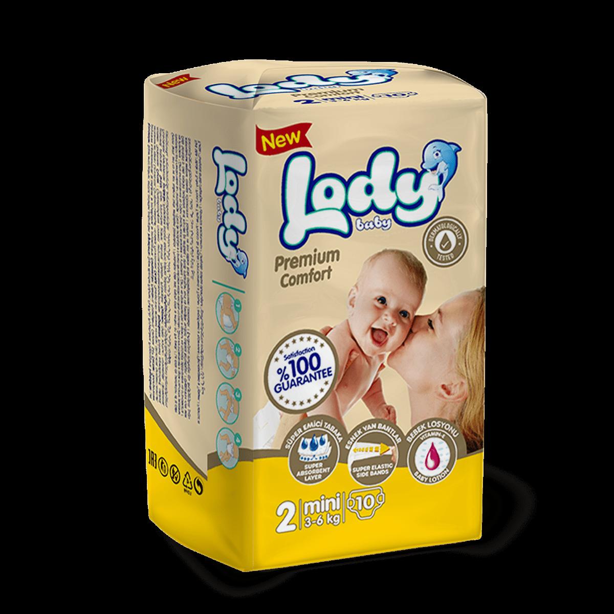 LODY BABY MINI ( 3-6 Kg ) Küçük Paket
