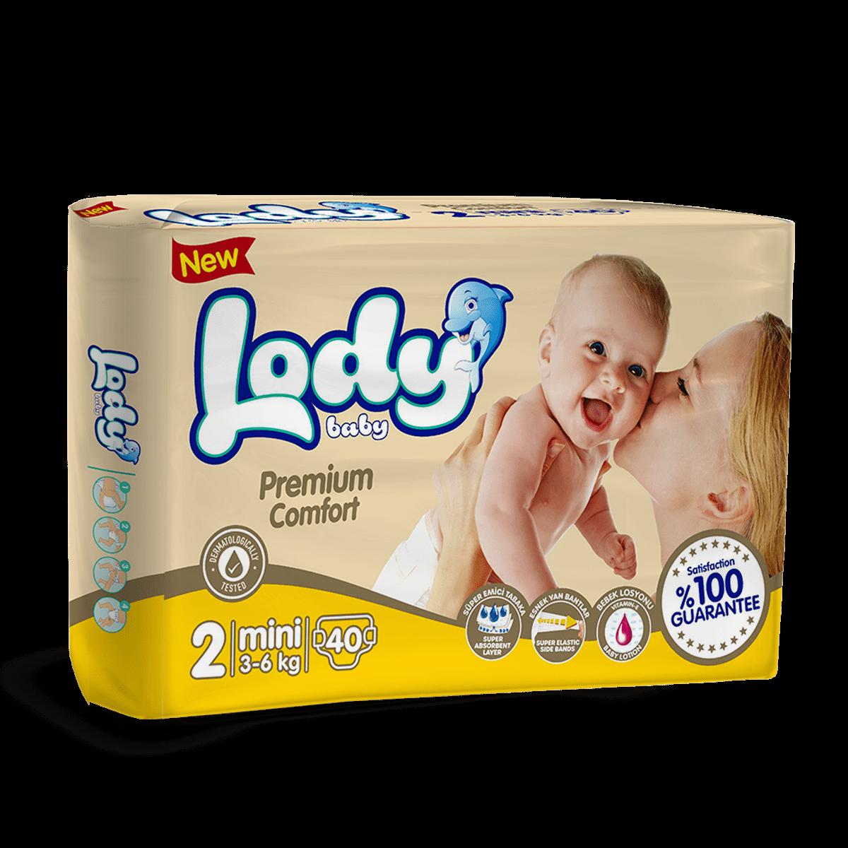 LODY BABY MINI ( 3-6 Kg ) İkiz Paket