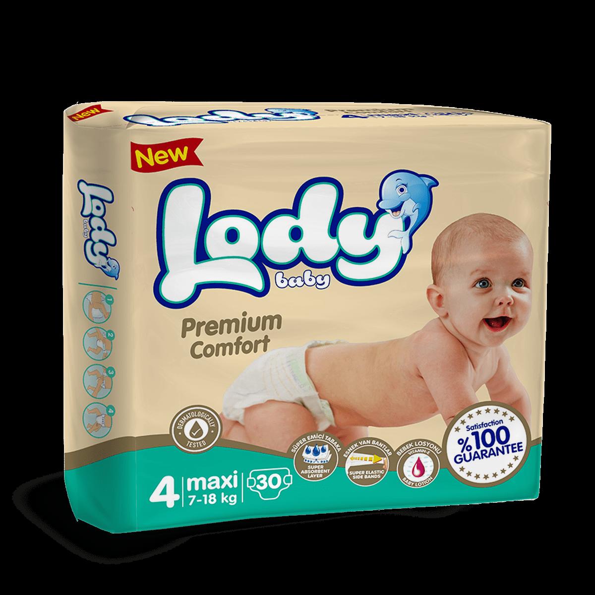 LODY BABY MAXI ( 7-18 Kg ) İkiz Paket