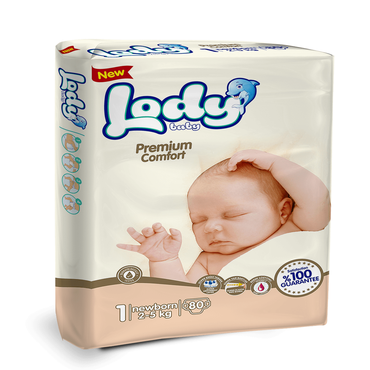 LODY BABY NEWBORN ( 2-5 Kg ) Jumbo Paket