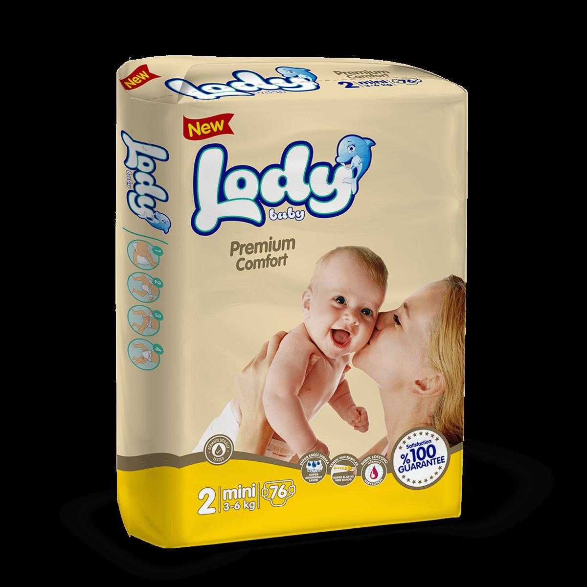 LODY BABY MINI ( 3-6 Kg )Jumbo Paket
