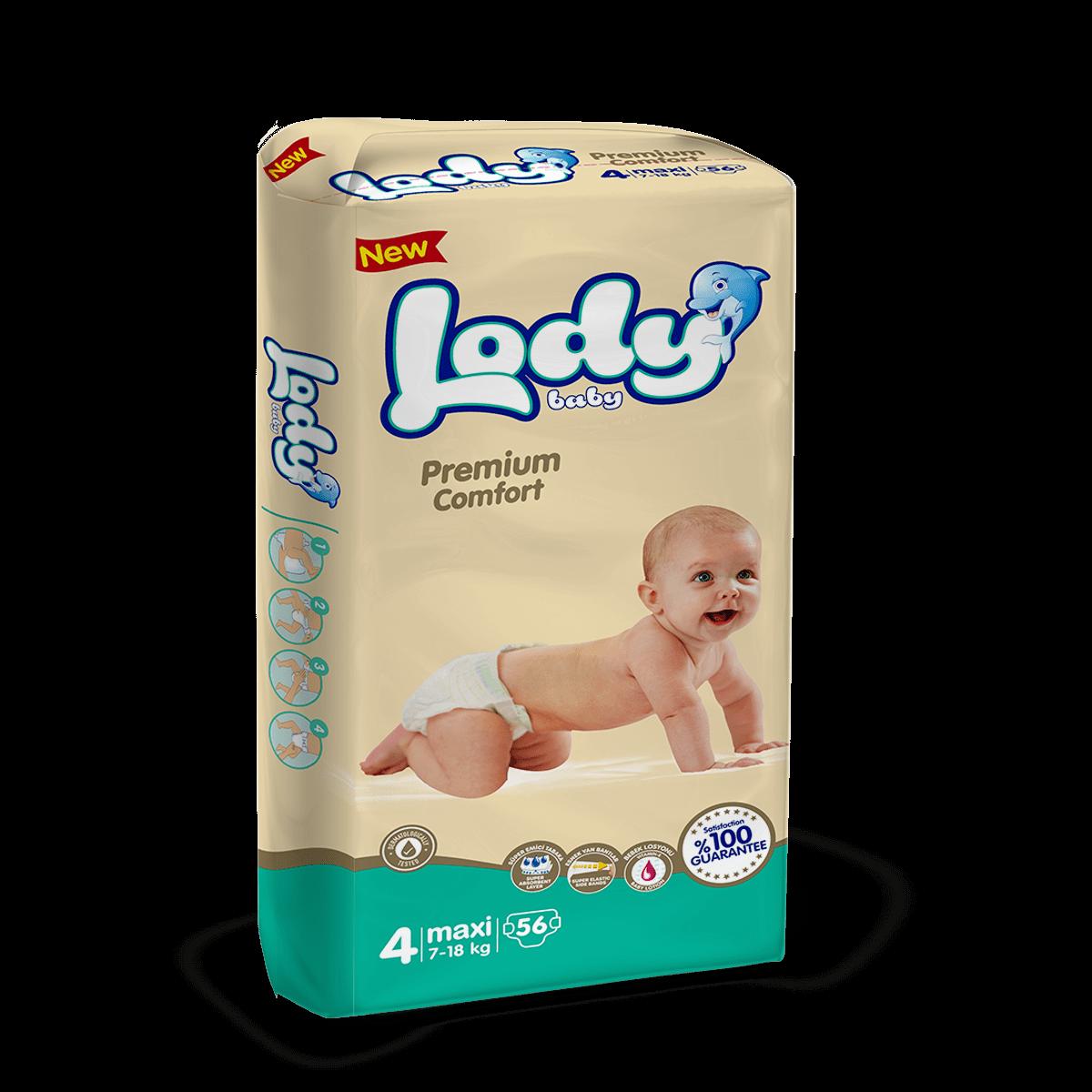 LODY BABY MAXI ( 7-18 Kg )Jumbo Paket