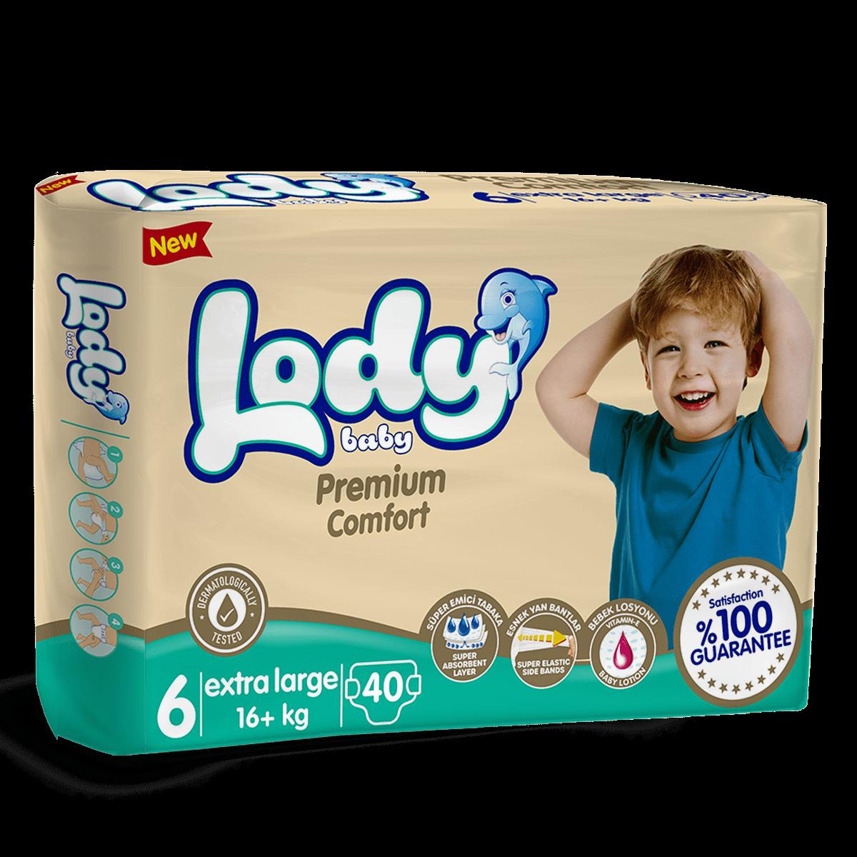 LODY BABY XL ( 16 + Kg ) Jumbo Paket
