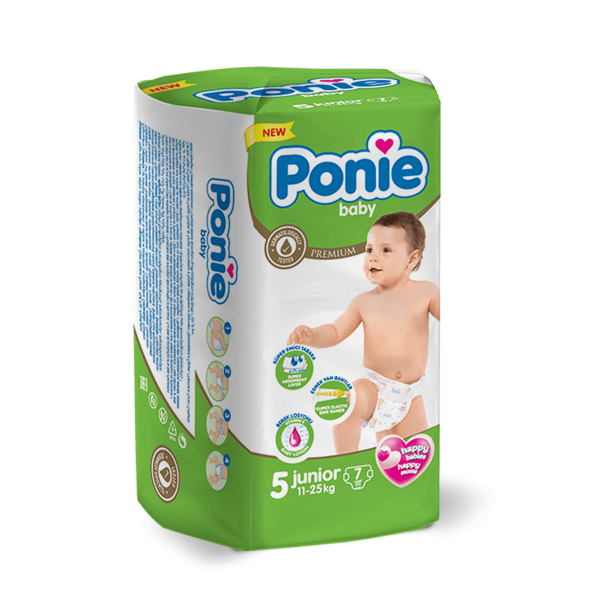 PONIE BABY JUNIOR ( 11-25 Kg ) Küçük Paket