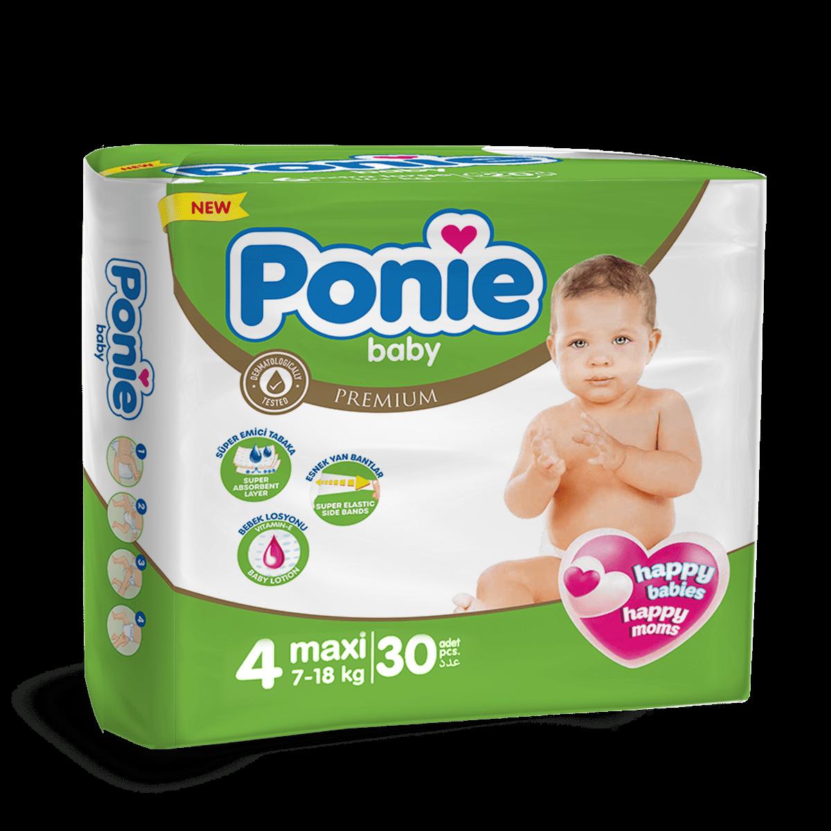 PONIE BABY MAXI ( 7-18 Kg ) İkiz Paket