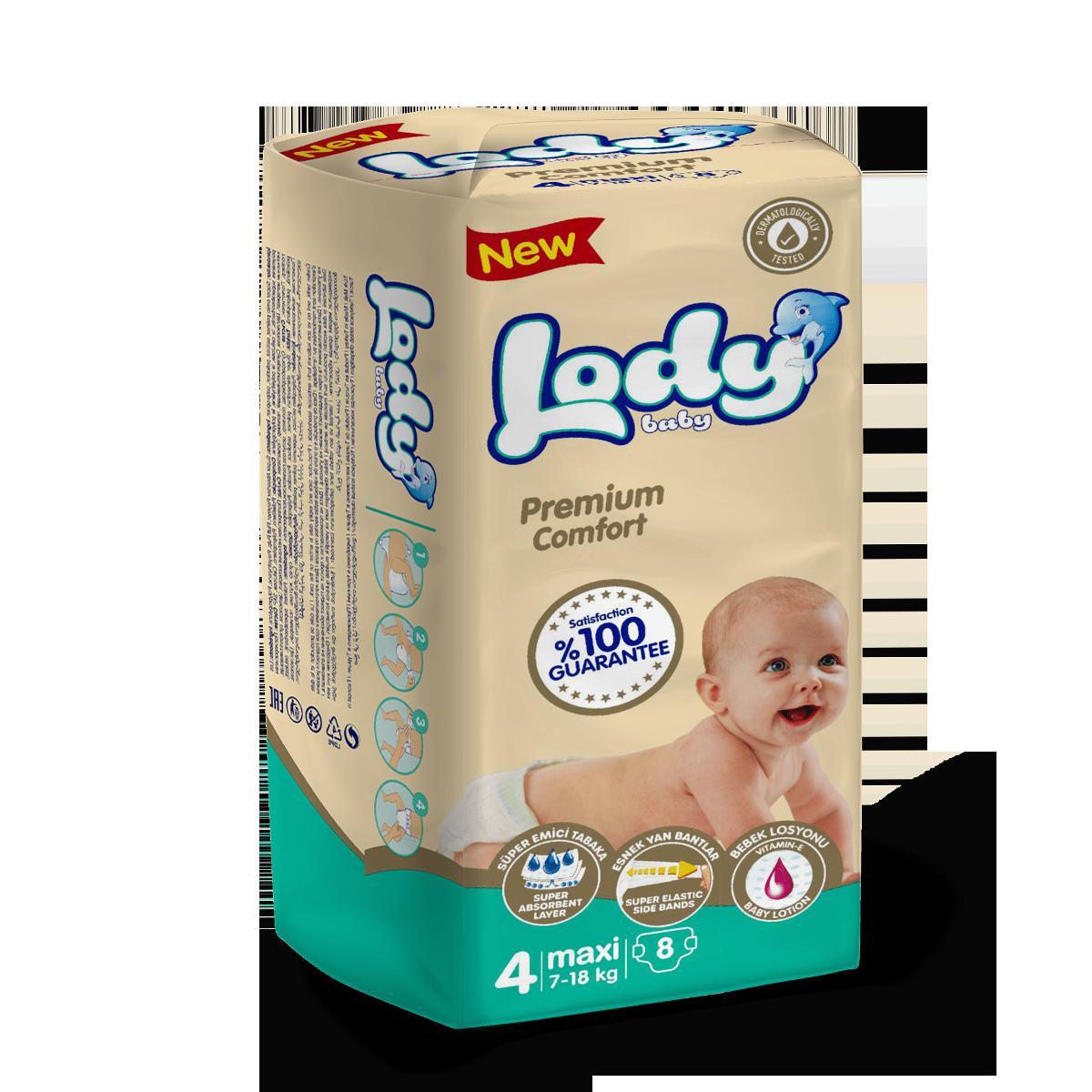 LODY BABY MAXI ( 7-18 Kg ) Küçük Paket